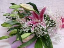 hana2☆ピンクオリエンタル花束