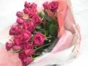 *赤バラの花束*