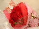 *母の日*真っ赤なカーネーションの花束
