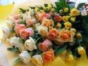 花束「apricot mix」