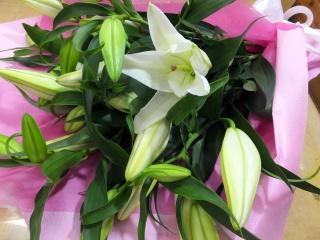 花束「lily」