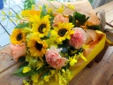 花束「sunflower」