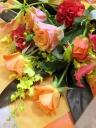 花束「orange peel」