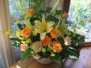 アレンジ「yellow lily」