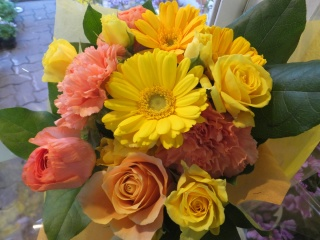 花束「happy」