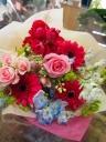 ビビッドガーベラの花束