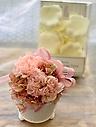 カーネーション【プリザ】とバラの花びら入浴剤