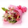CRANZ ユリと赤バラの花束