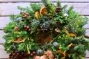 森の香り漂うフレッシュクリスマスリース シトラス