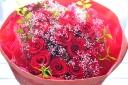 ★Dozen Rose 12本の赤バラブーケ★