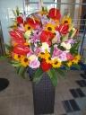 ミックス系のスタンド花