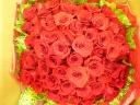 奇跡の花束!!赤バラ60本の大ボリューム!!