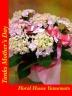 優しいピンクの八重咲きアジサイ