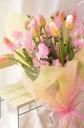 春色チューリップブーケ