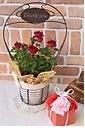 Thank you mam♪赤のミニバラと赤のソープフラワー
