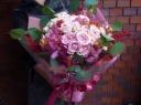 【特別な日に】ローズのスペシャルブーケ【ピンク系】