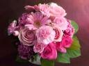 ○●東花園●○愛するママへ花瓶つきブーケ【ロゼ】