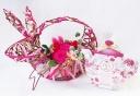 ピンクのうさぎプリザ♪&紅茶【アールグレイ】