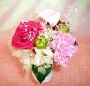 プリザーブドフラワー☆春の香り