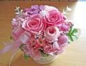 ピンク系で可愛く・・・優しく・・・