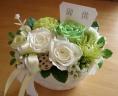 偲ぶ花 ホワイト&グリーン