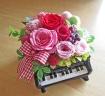 ピアノ♪♪ピンクのハートを覗かせて・・・