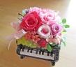 ピアノ♪♪ ピンク系で可愛く