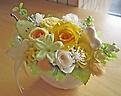 ジャスミンとライトイエローのお花で爽やかに♪