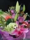 エレガントな花束