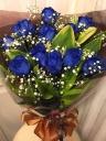 ブルーローズ☆+`奇跡の青薔薇 花束