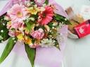 あすかおまかせ母の日花束・ティータイムセット