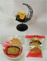 プリザ*クレッセントイエロー&洋菓子セット