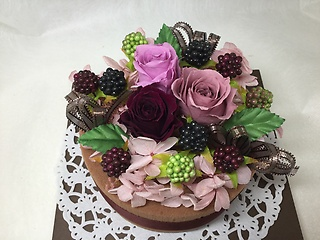 プリザ★チョコレートケーキ