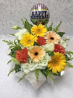 Happy birthday アレンジ・イエロー系