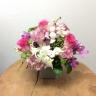 季節のアレンジメント~ピンクのお花をいれて~