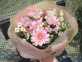 ベビーピンクの優しい花束