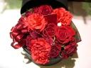 大人の赤 母に捧げる花