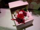 花箱 レッド&ピンク
