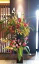 スタンド花 2段 生花店のおまかせスタンド