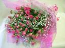 ミニバラいっぱい 花束