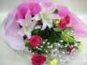 オリエンタルユリ 花束