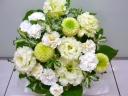 「お供え花」~清楚なアレンジメント