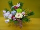 【迎春】お正月の飾り花~mochibana