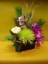 【迎春】お正月の飾り花~シンプル和モダン~
