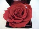 【4月誕生石&赤薔薇】ジュエリーBOX