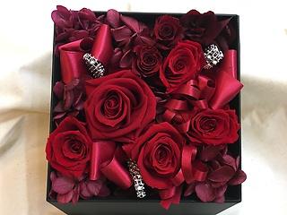 Flower Box ★レッドローズ★