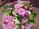 ナチュラルピンク花束