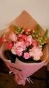 キュン!ピンクのLOVE花束