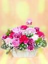 母の日!可愛い♡ピンクアレンジメント