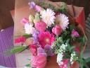 かわいめピンクな花束 [ドリーム]